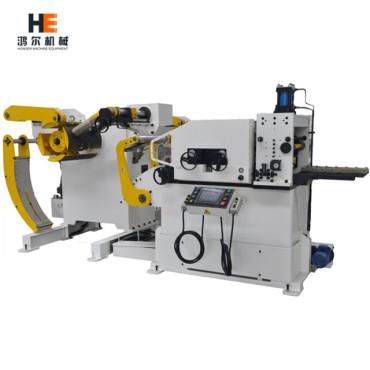 Coil Handling System ▏Compact Decoiler Straightener Feeder 3 in 1 Machine