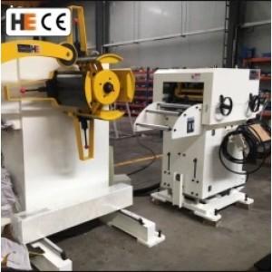 GLK2-500 3 In 1 Servo Feeder Machine With Mechanical Press For Heatsink Stamping Line