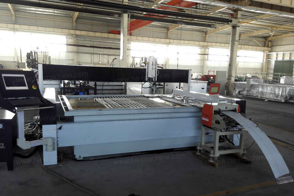 servo roll feeder machine for cutting line