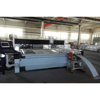 Servo Roll Feeder for Waterjet Cutting Machine