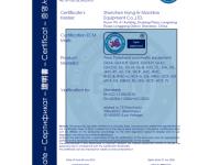 CE Certificate for Decoiler, Sheet Metal Straightener,  Press Feeder