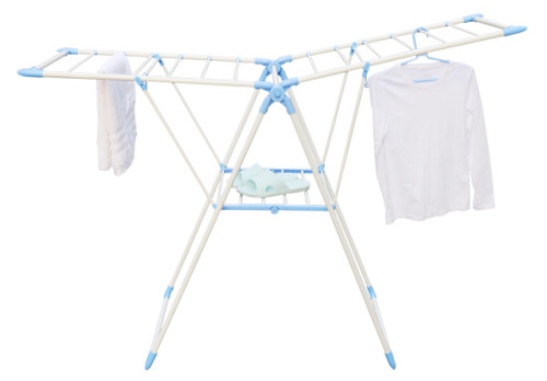 Foldable Wing-Arm Multi-functional Laundry Rack