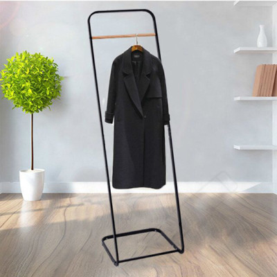 Extensible Single Rail Laundry Hanger Rack