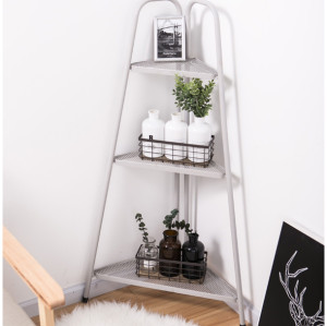3 Tier Triangle-shaped Storage Corner Rack
