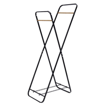 2 Tier Durable Shelf Laundry Hanger Rack