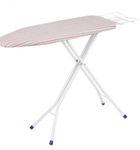 H Leg Mesh Ironing Board with Cotton Cover