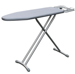 T Leg Mesh Ironing Board with Cotton Cover