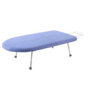 Tabletop Ironing Board with Folding Legs and Iron Rest