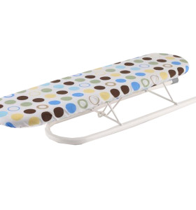 Small Mesh Tabletop Ironing Board with Scorch Resistant Cover