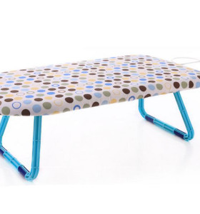 Plastic Tabletop Ironing Board with Folding Legs and Iron Rest