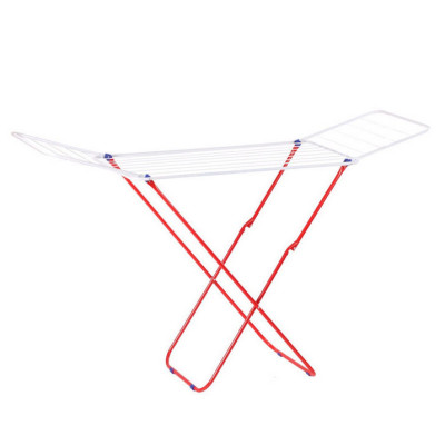 Wing-Arm Foldable Clothes Drying Rack