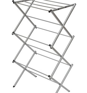 3-tier Folding Anti-Rust Compact Steel Drying Rack