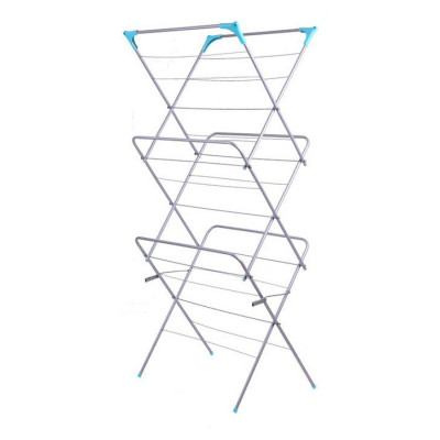 3-tier Foldale Anti-Rust Steel Drying Rack