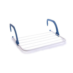 Over the Door Easy Install Folding Drying Rack with Hook