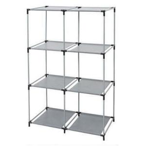 Open Shelves 3-tier 6 Cube Storage Closet