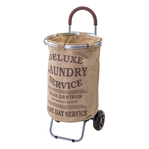 Multi-function Rolling Laundry Cart with Removable Bag