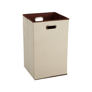 Folding Laundry Bin with Handles