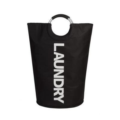 Waterproof Collapsible Hamper/Dirty Clothes Basket/Circular Handle Bag