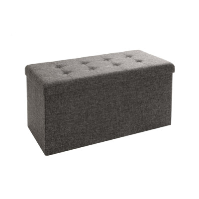 Square Multi-function Ottoman Storage Cube Bin Sofa