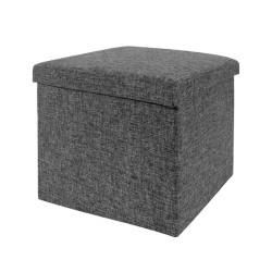 Square Multi-function Ottoman Storage Cube Bin Sofa