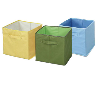 Simple Houseware Foldable Cube Storage Bin with Handles