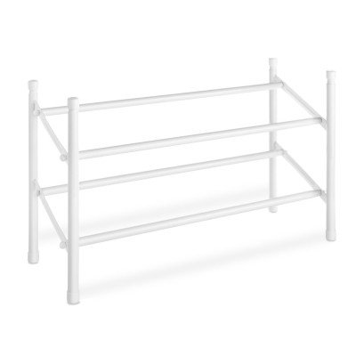Metal Free Standing 2 Tier Shoe Rack