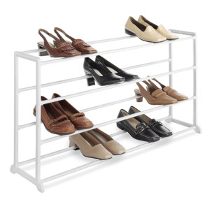 Durable Free Standing 4 Tier Shoe Rack