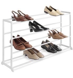 Durable Free Standing 4 Tier Shoe Rack