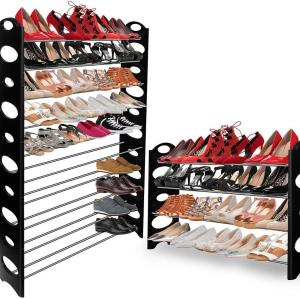 High Quality Durable Stainless Steel Shoe Rack