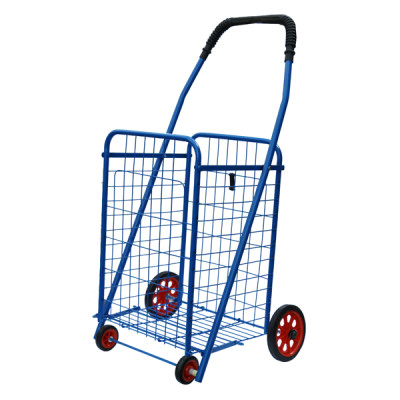 Movable Folding Design Shopping Cart with Handle