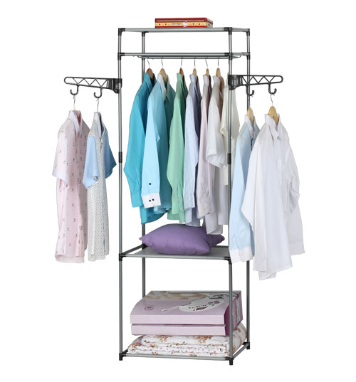 Wing-Arm Multi-purpose Clothes Drying Rack