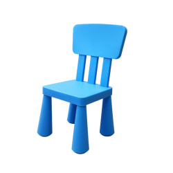 Wooden High Back Chair for Kids