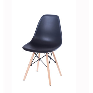 Modern Wooden Chair with Solid Wooden Seat