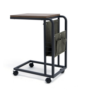 Folding Storage Box Rolling Cart with Board