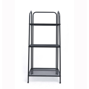 3 Tier Metal Multifunction Storage Rack with Handle