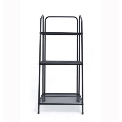 3 Tier Metal Multifunction Storage Rack with Handle