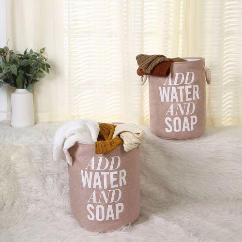 Home laundry basket organizer