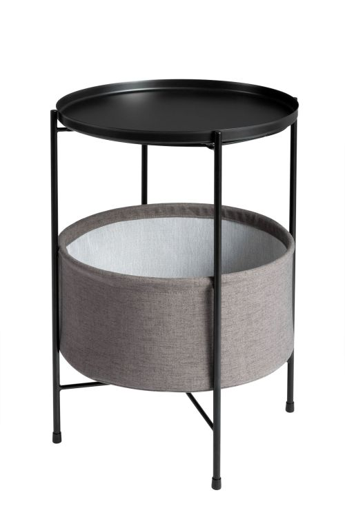 X-Base Metal Tray Table with Storage Bag