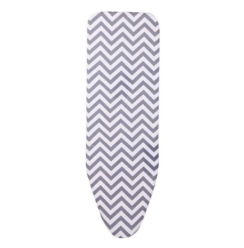 Heat Resistant Silicone Coated Simple silver Cloth Ironing Board Cover