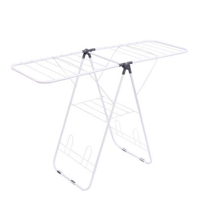 Airfoil Standing Folding fold metal iron cotton Laundry Clothes Drying Rack