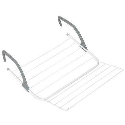 Hanging Wire Clothes Drying Balcony Window Sill 4.5m Folding Towel Rack