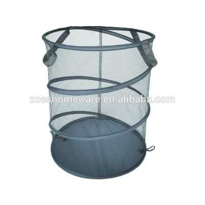 Wholesale Polyester Collapsible Mesh Pop-up Laundry Hampers
