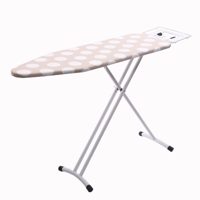 Iron Tube Cotton Cover Adjustable Height Ironing Board Folding