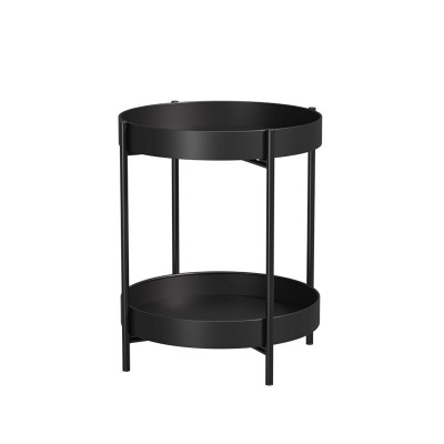 Cheap Living Room Furniture Tray Small Round Table Modern Metal Outdoor Coffee and Side Table