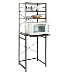 Kitchen Organization Iron Microwave&Oven Shelf Rack with Removable Shelf