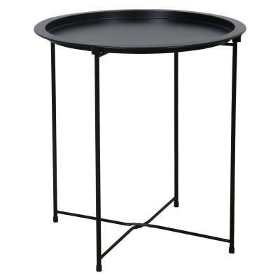 Good Quality Detachable tray Sofa Side Table Tray Table Coffee Table Black