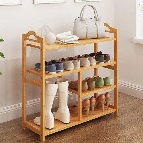 Multi-functional Bamboo Economical Shoe Rack Furniture Shoe Rack Modern Shoe Rack Wood
