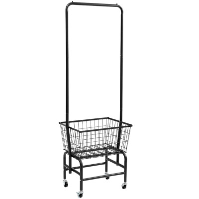 Simple Design Movable Modern Laundry Metal Racking Boutique Clothing Racks