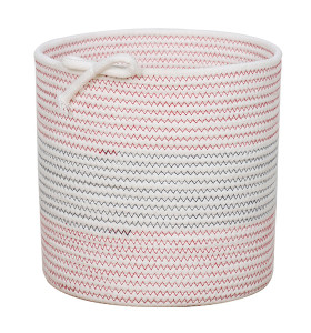 Home Minimalist Cotton Rope Storage Baskets Home Decor Clothes Basket Storage