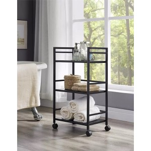 3 Tier Rolling Storage Cart with Handle